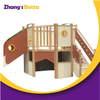 Popular Design Kids Attractive Outdoor Wood Kids Wooden Playhouse