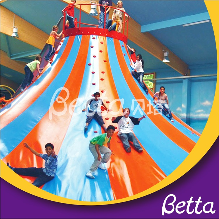 Colorful volcano climbing equipment competitive price indoor playground equipment