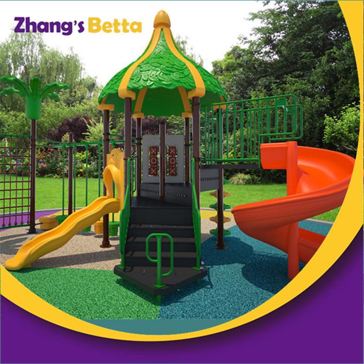 Children Plastic Outdoor Playground Slides For ...