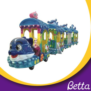 Ocean mermaid electric track train , kids riding train