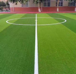 Good Tenacity Flat and Easy for Football Artificial Turf