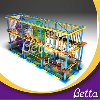 Bettaplay Shopping mall commercial use colorful rope course equipment