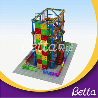 Bettaplay Custom made amusement park spiral slide rope course