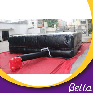 Manufacturers children indoor sport equipment, kids trampoline park airbag