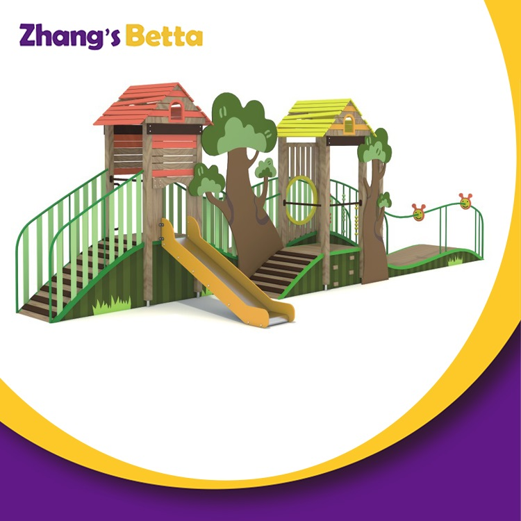 Mini Entertainment Play Structure Children Outdoor Playground Slide