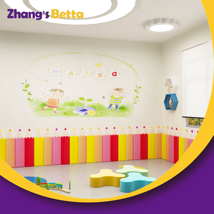 Kindergarten Soft Wall Bumper for Indoor Playground