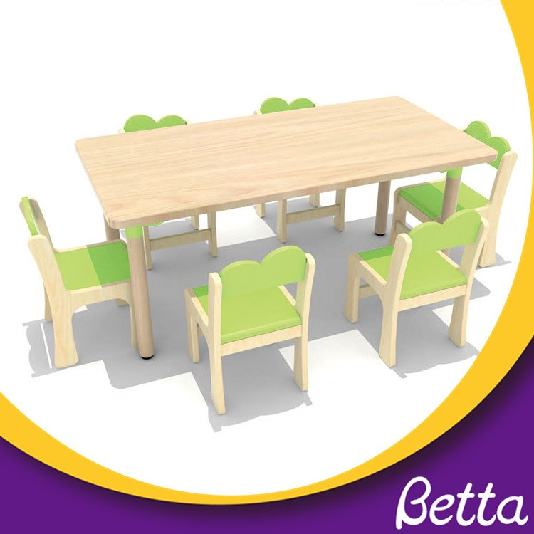 Colorful kids furniture preschool desk infant table chair
