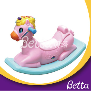 For kindergarten Kids popular indoor plastic rocking horse ride on toy