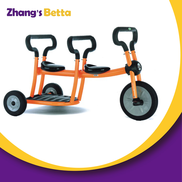 Kids 3 Wheel Bicycle Toys Metal Bike Toy for 3-6 Years Old Child