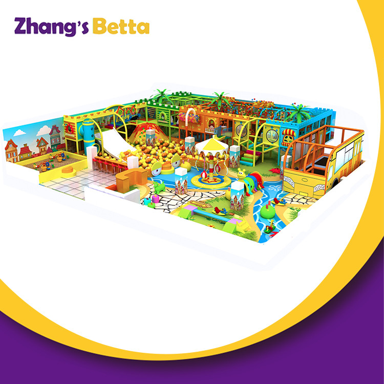Indoor Playground Family Entertainment Center for Sale