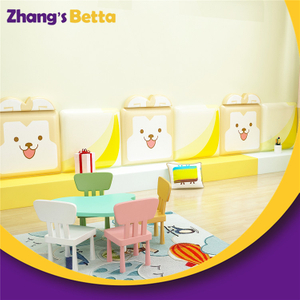Kindergarten safety soft wall padding