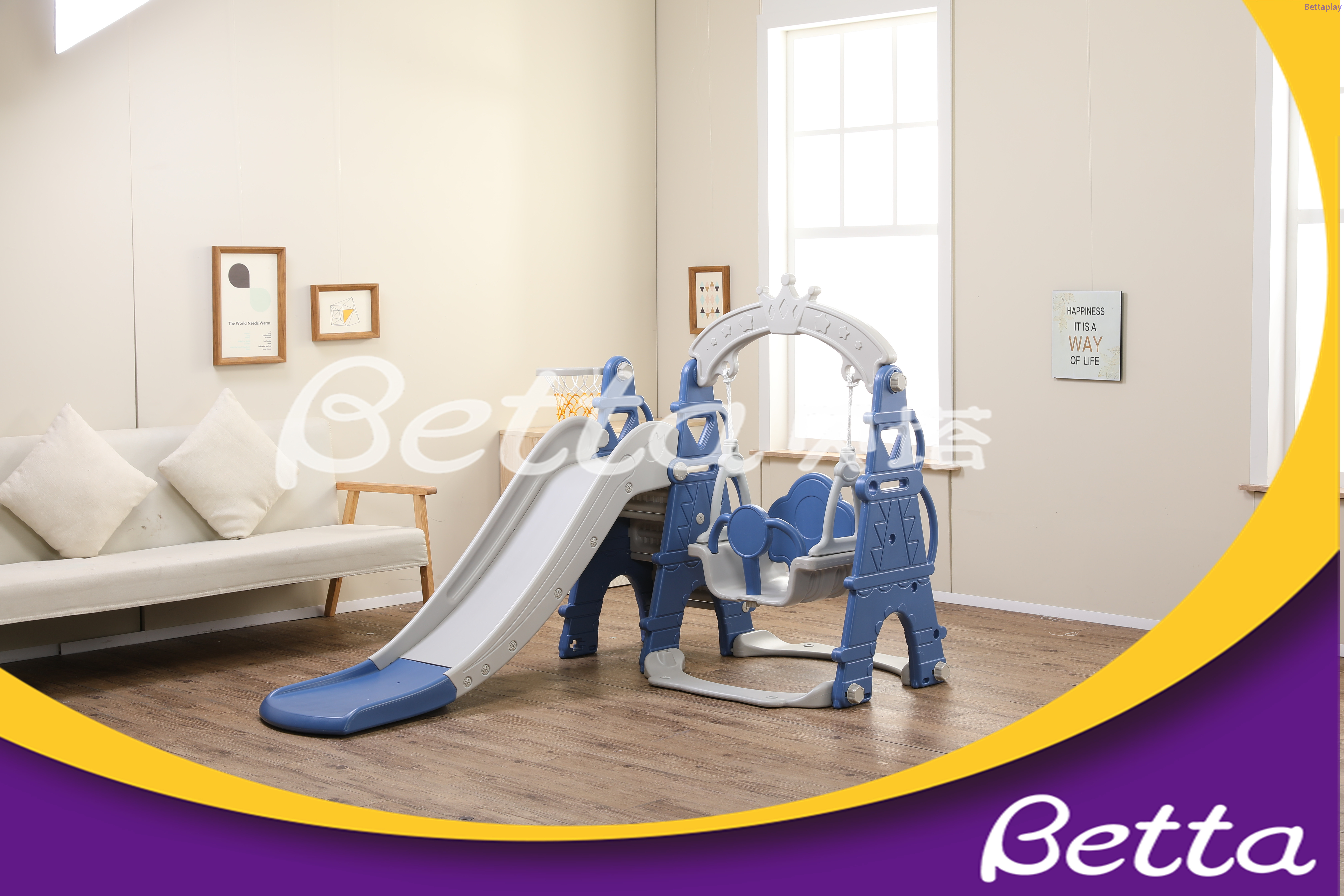 Trade assurance Good Quality Sale Swing & Plastic Children Slide Outdoor Playground Equipment