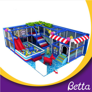 Indoor playground play set for restaurant for sale