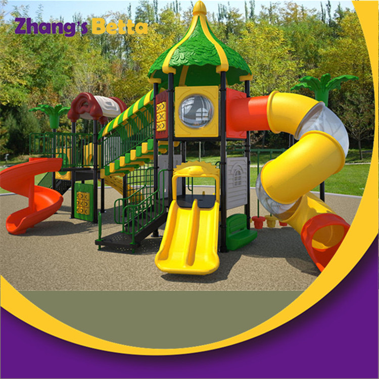 High Quality Kids Used Outdoor Play Playground Plastic Slides for Sell