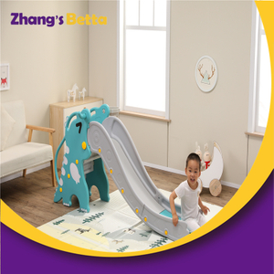 New Design for Own Use Cute Modest Plastic Children Slide Stay Style Outdoor Playground Equipment