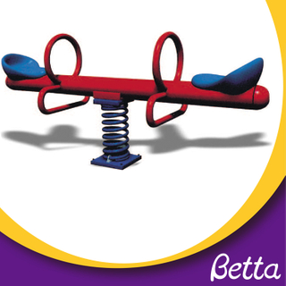 Bettaplay outdoor playground metal kids seesaw