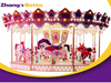 Merry Go Round outdoor Playground Equipment For Amusement