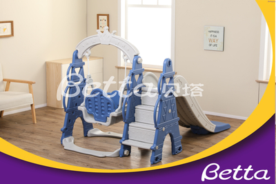 Sale Swing & Plastic Children Slide Outdoor Playground Equipment