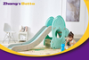 Top Supplier Pastel Home Stay New Design Best Quality & Plastic Children Slide with Hoop Outdoor Playground Equipment For Own Use