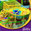 Indoor rope hand crocheted net playground for children