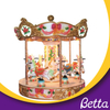 Coin operated kiddie rides carousel for sale small merry go round