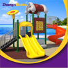 Customized Amusement Park Kids Used Outdoor Play Playground Plastic Slides
