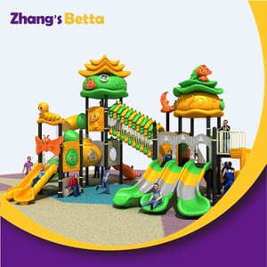 Outdoor Kids Spiral Tube Slide And Swing Set Playground
