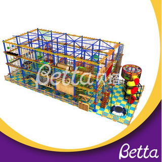 Bettaplay Multi-layer climbing wall kids adventure equipment rope course