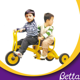 cheap for twins kids double seat tricycle