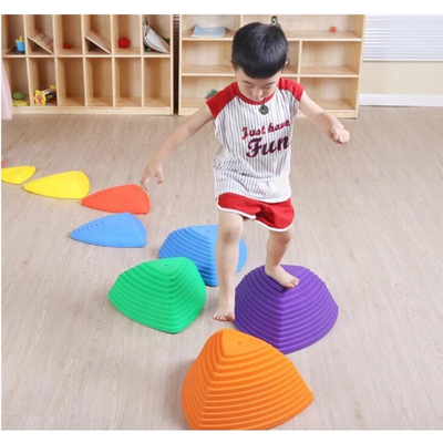 Children Balance Stepping Stones Plastic River Stone Toy