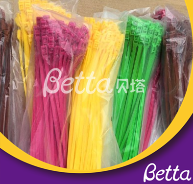 BettaPlay 2019 New High Strength Self-locking Cable Tie For Indoor Playground
