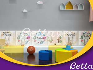Betta Kindergarten Soft Wall Bumper for Indoor Playground