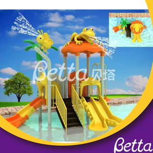 2019 New Design Kids Plastic Water Slides, Water Park Slides for Sale