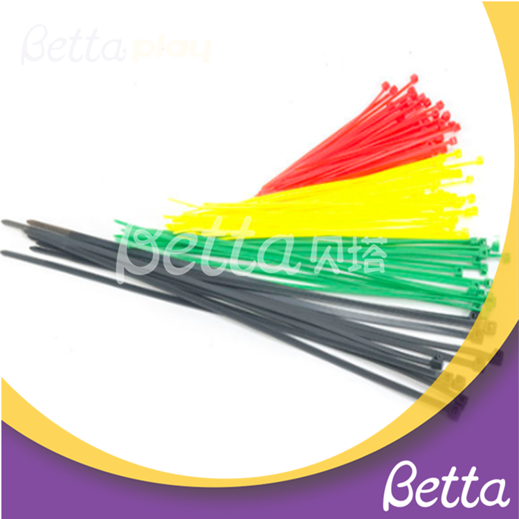 Bettaplay self-locking cable ties for indoor playground