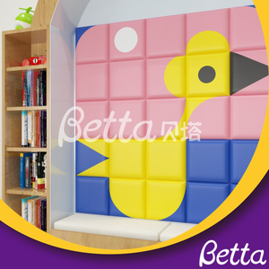 Safety Colorful Soft Wall Customized Soft Wall for Kids Room Playground