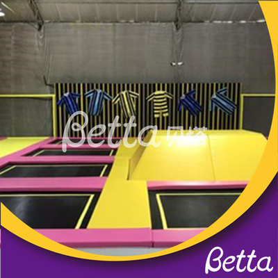 Bettaplay Indoor Playground Trampoline Spider Wall