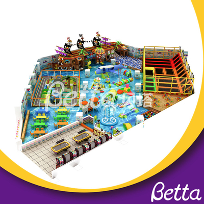 Professional Multi Functional Small Indoor Trampoline Park