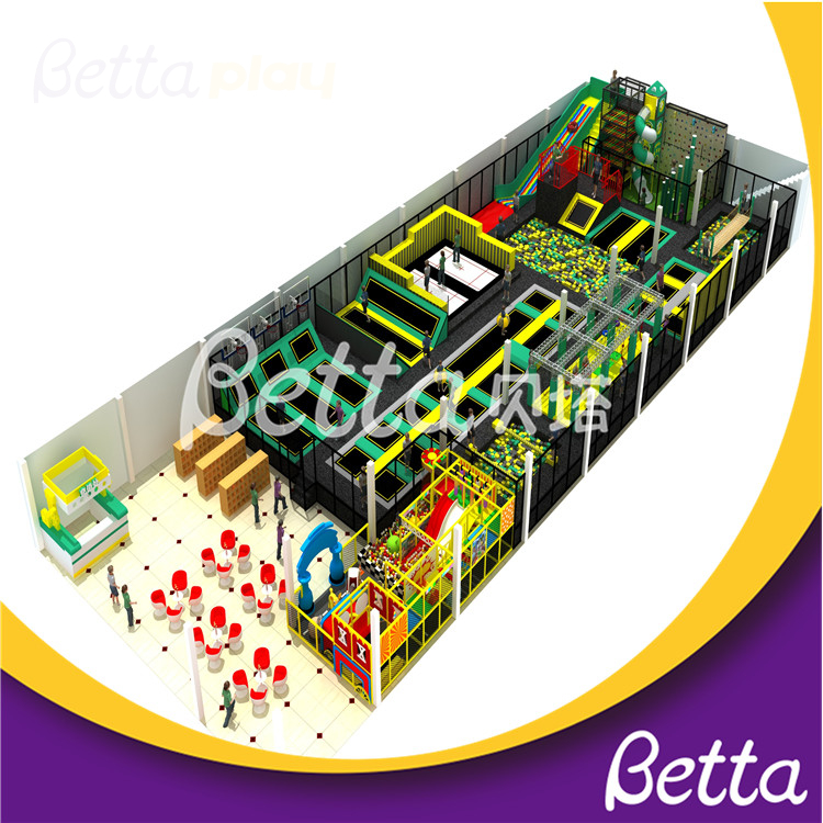 Bettaplay Great Quanlity Trampolines for Indoor Playground