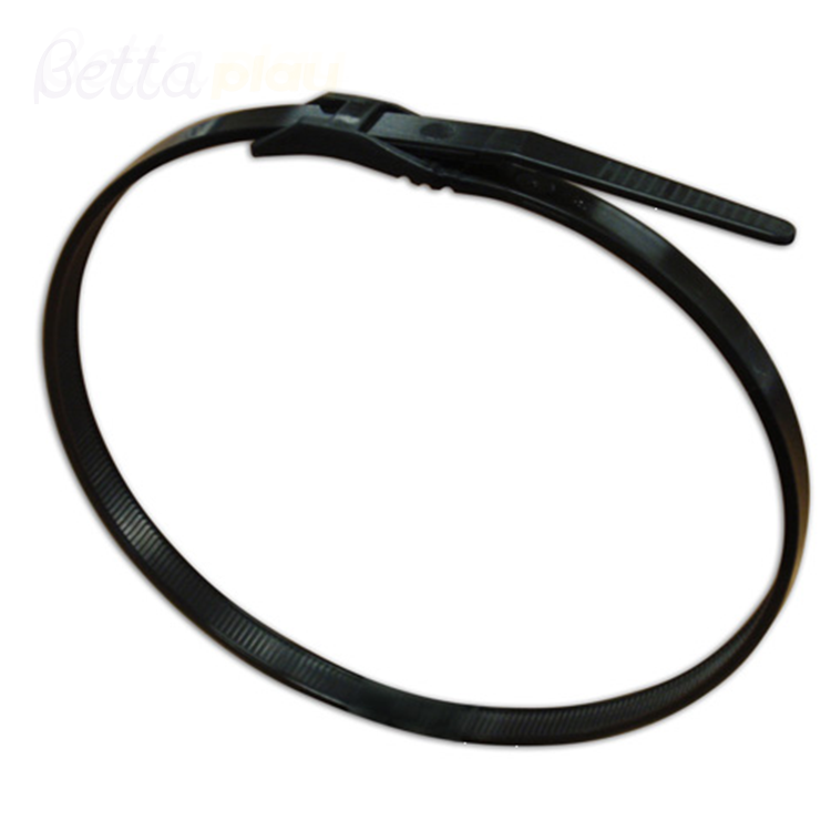 Bettaplay Nylon Cable Tie Wenzhou Manufacturers Black Color Cable Ties for Indoor Playground