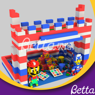Customized Epp Foam Block Building DIY Educational Toy for Kids Indoor Palyground