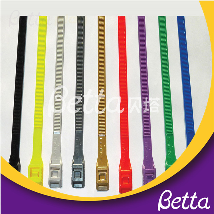 Bettaplay Plastic Good Quality Heat-resistant Cable Tie for Indoor Playground