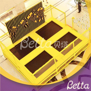 Bettaplay Indoor Playground Spider Wall suit for kids