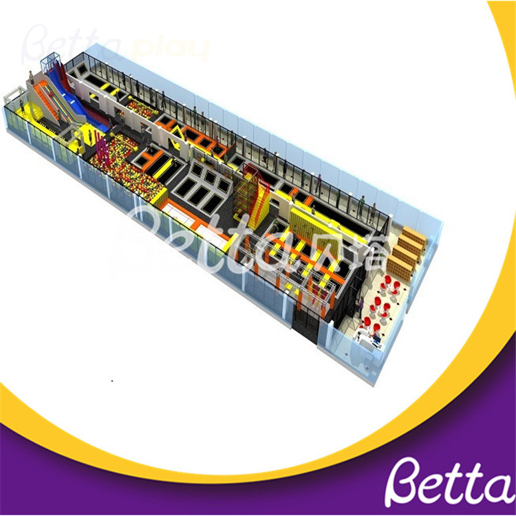 Bettaplay Trampolines Professional Park for Indoor Playground
