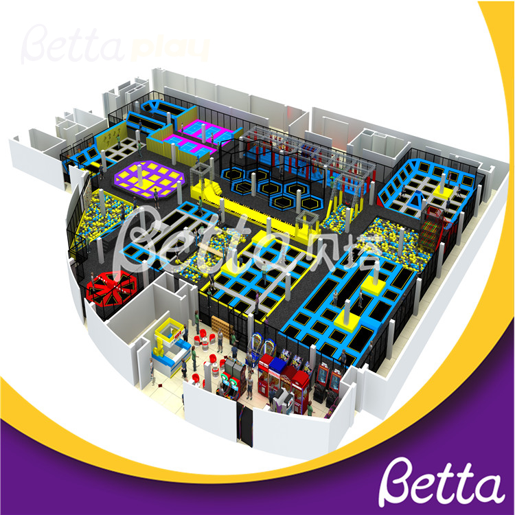 Bettaplay Customized Jumping Trampolines Park