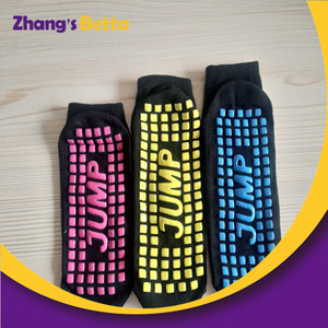 Cheap Custom Trampoline Socks Oem Trampoline Anti Slip Socks