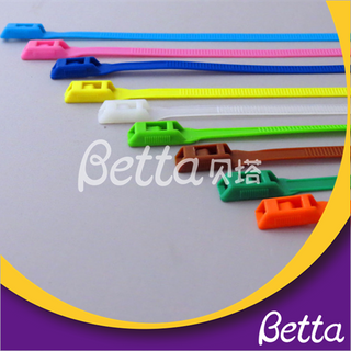 Bettaplay Wholesale Secure Nylon Heavy Duty Durable Cable Ties For Wholesale Indoor playground kids