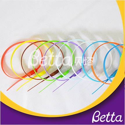 Bettaplay Wholesale Nylon Heavy Duty Secure Durable Cable Tie To Foam Tube For Indoor Playground