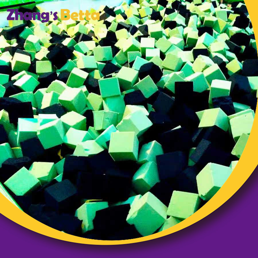 Popular Foam Pit Blocks Sponge Foam Cube Cover for Indoor Trampoline Park