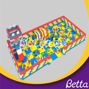 2019 Competitive Price Commercial Indoor Playground Children's EPP Foam Building Block