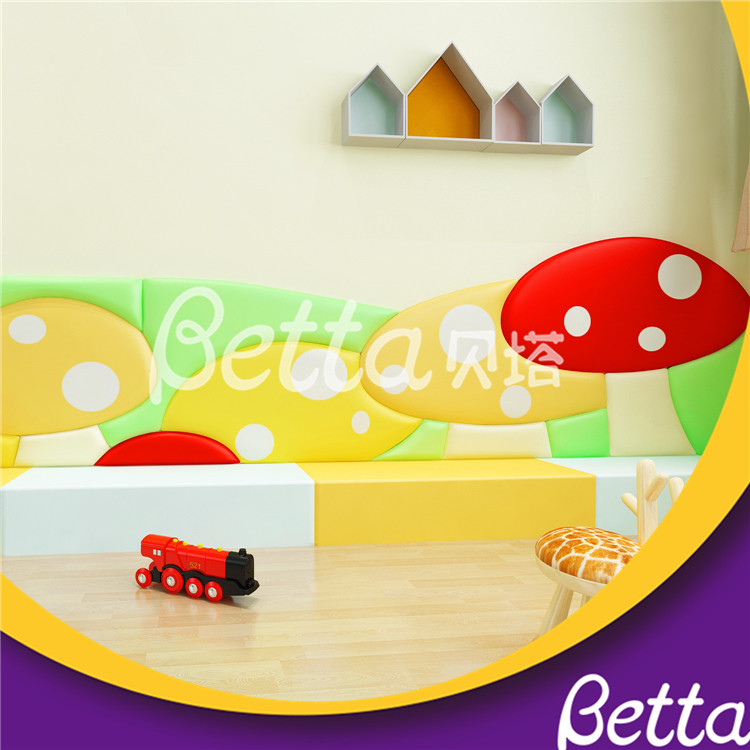 Bettaplay Custom Made Wall Padding for Kids Room